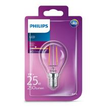 Philips LEDClassic luster 2-25W P45 E14 827 CL ND
